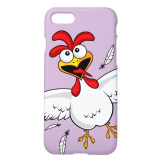 Funda Para iPhone 8/7 Pollo chistoso lindo divertido fresco del dibujo