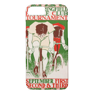 Funda Para iPhone 8/7 Poster retro 1895 de la bicicleta