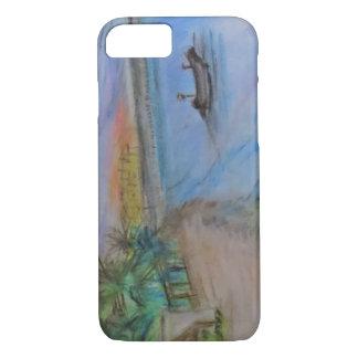 Funda Para iPhone 8/7 Primera puesta del sol en Playa