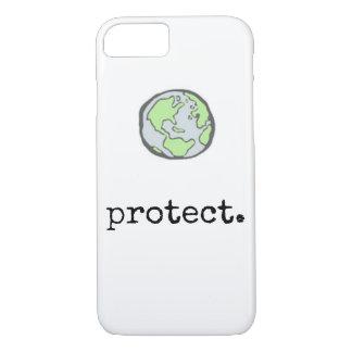 Funda Para iPhone 8/7 Proteja nuestra caja del teléfono del planeta