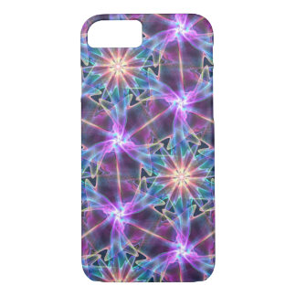Funda Para iPhone 8/7 púrpura abstracta del fractal