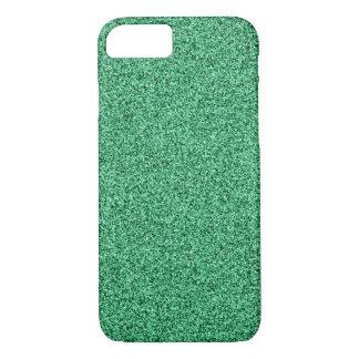 Funda Para iPhone 8/7 Purpurina verde
