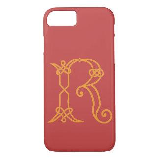 Funda Para iPhone 8/7 R inicial personalizado nudo céltico