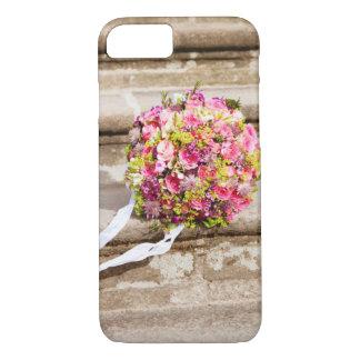 Funda Para iPhone 8/7 Ramo floral del boda del rosa y del verde
