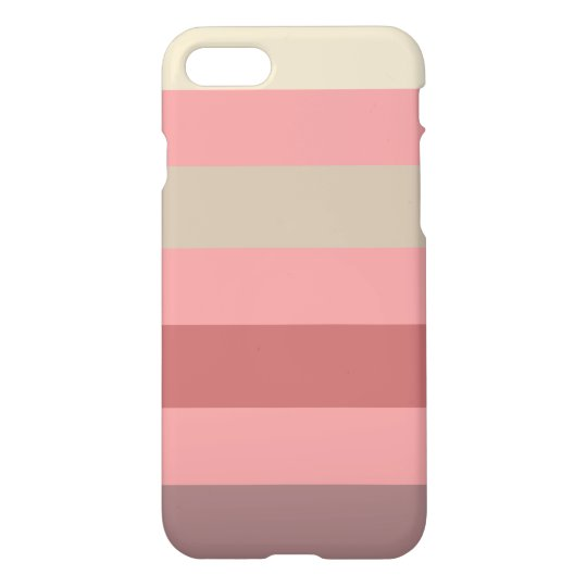 Funda Para iPhone 8/7 Raya color de rosa caliente