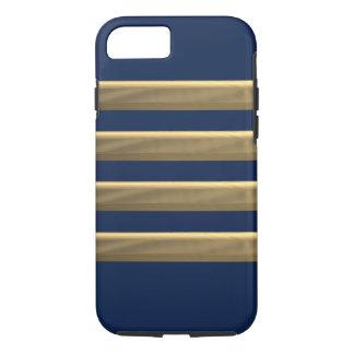 Funda Para iPhone 8/7 Rayas del oro del capitán