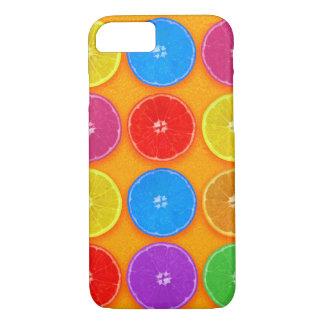 Funda Para iPhone 8/7 Rebanadas anaranjadas coloridas frescas