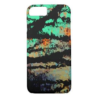 Funda Para iPhone 8/7 Reflexiones negras del pantano