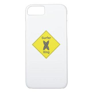 Funda Para iPhone 8/7 Regalo del tablero que practica surf de la resaca