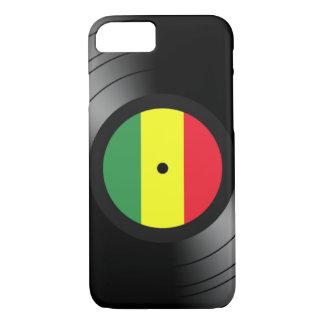 Funda Para iPhone 8/7 Reggae del vinilo