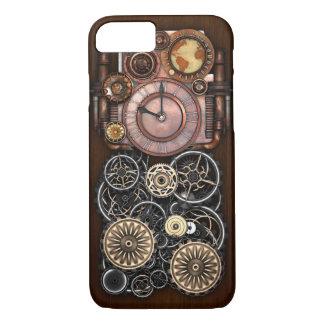 Funda Para iPhone 8/7 Reloj de Steampunk Redux