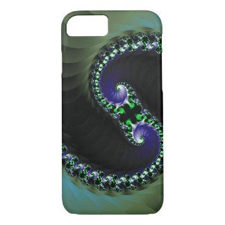 Funda Para iPhone 8/7 Remolino abstracto del color oscuro de Digitaces