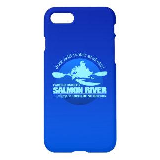 Funda Para iPhone 8/7 Río salmonero (azul)