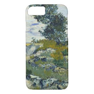 Funda Para iPhone 8/7 Rocas de Vincent van Gogh con bella arte del roble