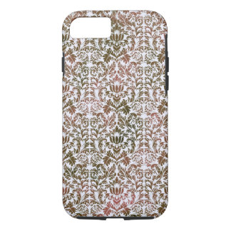 Funda Para iPhone 8/7 Rosa y damasco Heathered de Shibori del batik de