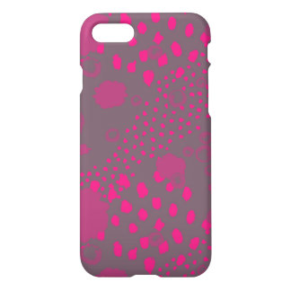 Funda Para iPhone 8/7 Rosa y extracto gris