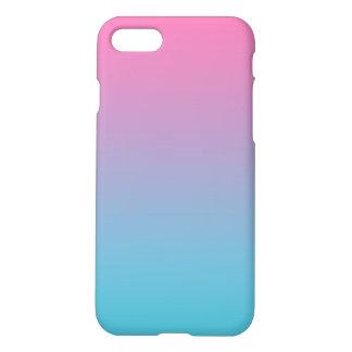 Funda Para iPhone 8/7 Rosa y turquesa Ombre