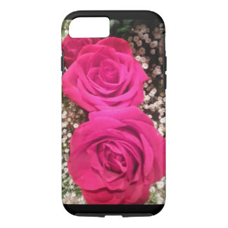 Funda Para iPhone 8/7 Rosas rosados hermosos