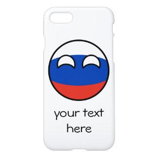 Funda Para iPhone 8/7 Rusia Geeky que tiende divertida Countryball