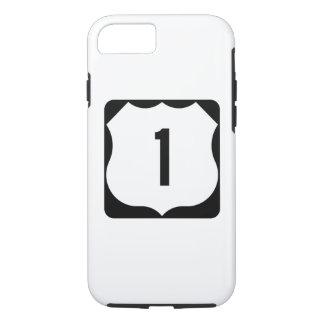 Funda Para iPhone 8/7 Ruta 1, xxxx, los E.E.U.U. del estado