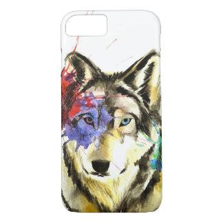 Funda Para iPhone 8/7 Salpicadura del lobo