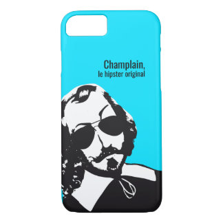 Funda Para iPhone 8/7 Samuel Champlain Hipster texto del