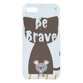 Funda Para iPhone 8/7 Sea pequeño ratón valiente