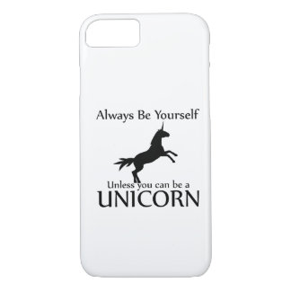Funda Para iPhone 8/7 Sea usted mismo unicornio