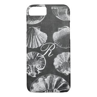 Funda Para iPhone 8/7 seashells botánicos franceses costeros de la