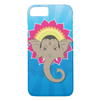 Funda Para iPhone 8/7 Señor Ganesha Digital Illustration con arte de la