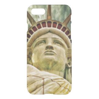 Funda Para iPhone 8/7 Señora Liberty, estatua de la libertad