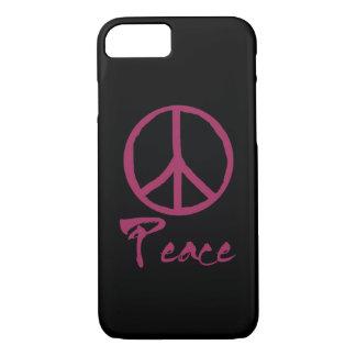 Funda Para iPhone 8/7 Signo de la paz retro