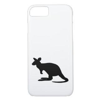 Funda Para iPhone 8/7 Silueta del canguro