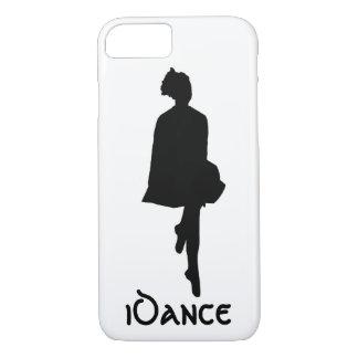 Funda Para iPhone 8/7 silueta irlandesa del bailarín del iDance