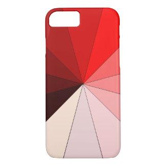 Funda Para iPhone 8/7 sombras del rojo