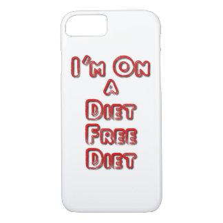 Funda Para iPhone 8/7 Soy en un iPhone libre de la dieta de la dieta 8/7
