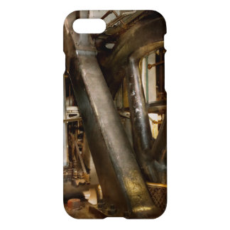 Funda Para iPhone 8/7 Steampunk - ruedas del progreso