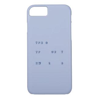 Funda Para iPhone 8/7 Steno ningún otro caso de las preguntas