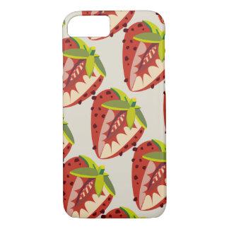 Funda Para iPhone 8/7 Strawberry vintage pattern