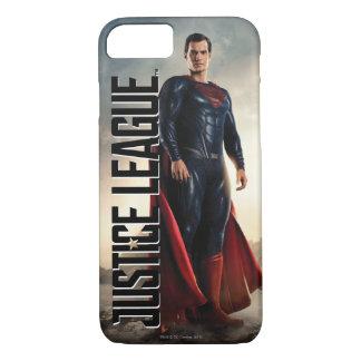 Funda Para iPhone 8/7 Superhombre de la liga de justicia el | en campo