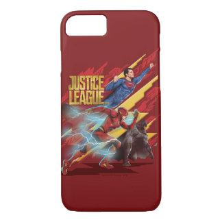Funda Para iPhone 8/7 Superhombre de la liga de justicia el |, flash, y
