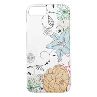 Funda Para iPhone 8/7 Swirly abstracto floral
