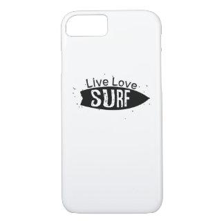 Funda Para iPhone 8/7 Tablero que practica surf de los patinadores de
