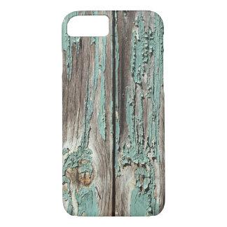 Funda Para iPhone 8/7 Tableros verde azulados del dolor de la peladura