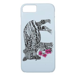 Funda Para iPhone 8/7 Tapir con la orquídea