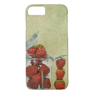 Funda Para iPhone 8/7 tarro de la fresa