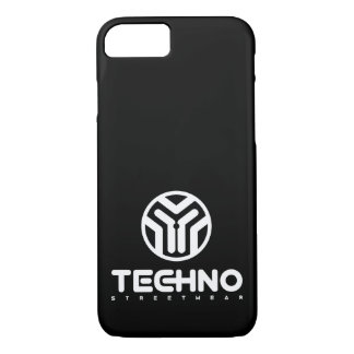 Funda Para iPhone 8/7 Techno Streetwear - logotipo - caja del teléfono