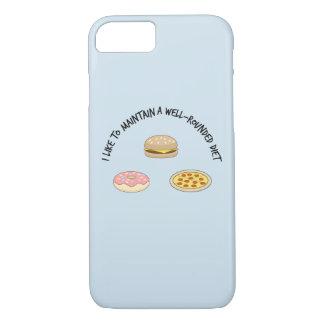 Funda Para iPhone 8/7 Tengo gusto de mantener una dieta versátil