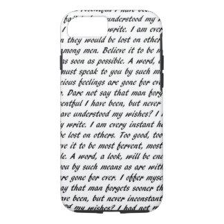 Funda Para iPhone 8/7 Texto de la persuasión