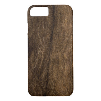 Funda Para iPhone 8/7 Textura de las lanas de Brown